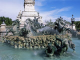 Monument Aux Girondins, Bordeaux, Gironde, Aquitaine, France Photographic Print by J Lightfoot