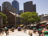 Quincy Market, Boston, Massachusetts, New England, USA Photographic Print by Amanda Hall