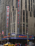 Radio City Music Hall, Manhattan, New York City, New York, USA Photographic Print by Amanda Hall