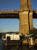 The River Cafe Under Brooklyn Bridge, Brooklyn, New York City, New York, USA Photographic Print by Amanda Hall
