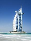 Burj Al Arab Hotel, Dubai, United Arab Emirates, Middle East Photographic Print by Amanda Hall