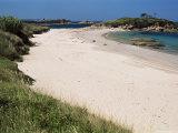 Playa De La Lanzada, Rias Bajas, Galicia, Spain Photographic Print by Duncan Maxwell
