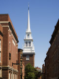 Old North Church, North End, Boston, Massachusetts, New England, USA Photographic Print by Amanda Hall