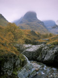 The Three Sisters, Glencoe, Highland Region, Scotland, United Kingdom Photographic Print by Roy Rainford