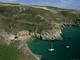 The South Coast Near Prawle Point, Devon, England, United Kingdom Photographic Print by Duncan Maxwell