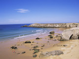Quiberon, Cote Sauvage, Brittany, France Photographic Print by J Lightfoot