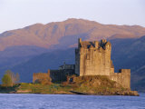 Eilean Donan Ieilean Donnan) Castle Built in 1230, Dornie, Scotland Photographic Print by Lousie Murray
