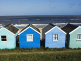 Beach Huts, Southwold, Suffolk, England, United Kingdom Photographic Print by Amanda Hall