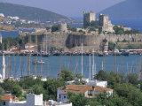 Bodrum and Bodrum Castle, Anatolia, Turkey Photographic Print by J Lightfoot