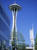 Space Needle, Seattle, Washington State, USA Photographic Print by J Lightfoot
