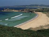 Praia De Foxos, Atlantic-Facing Beach, Ria De Pontevedra, Galicia, Spain Photographic Print by Duncan Maxwell