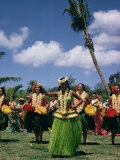 Hula Dance, Waikiki, Hawaii, Hawaiian Islands, Pacific, USA Photographic Print by Ursula Gahwiler
