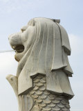 The Merlion, the National Symbol, Singapore, Southeast Asia Photographic Print by Amanda Hall
