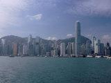 Hong Kong Skyline and Victoria Harbour, Hong Kong, China Photographic Print by Amanda Hall