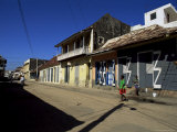 Typical Buildings, Cap Haitien, Haiti, West Indies, Central America Photographic Print by Lousie Murray