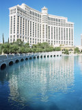 Hotel Bellagio, Las Vegas, Nevada, USA Photographic Print by J Lightfoot