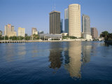 City Skyline, Tampa, Gulf Coast, Florida, USA Photographic Print by J Lightfoot