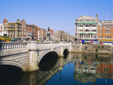 O&#39;Connell Bridge, Dublin, Ireland/Eire Photographic Print by J Lightfoot