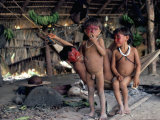 Yanomami Children, Brazil, South America Photographic Print by Robin Hanbury-tenison