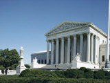 Supreme Court Building, Washington D.C., USA Photographic Print by Ursula Gahwiler