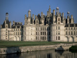 Chateau De Chambord, Unesco World Heritage Site, Loir-Et-Cher, Loire Valley, Centre, France Photographic Print by J Lightfoot