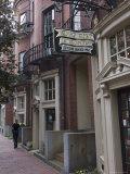 Charles Street, Beacon Hill, Boston, Massachusetts, New England, USA Photographic Print by Amanda Hall