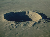Meteor Crater, the Largest Known in the World, Arizona, USA Photographic Print by Ursula Gahwiler