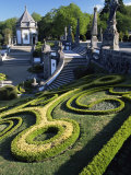 Bom Jesus Basilica Gardens, City of Braga, Minho Region, Portugal Photographic Print by Duncan Maxwell