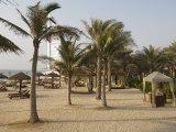 Jumeirah Beach Near Burj Al Arab Hotel, Dubai, United Arab Emirates, Middle East Photographic Print by Amanda Hall