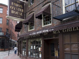 The Union Oyster House, Blackstone Block, Built in 1714, Boston Photographic Print by Amanda Hall