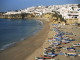 Albufeira, Algarve, Portugal Photographic Print by J Lightfoot