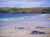 Pentire Point, Polzeath, Cornwall, England, United Kingdom Photographic Print by J Lightfoot