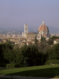 City Skyline from Boboli Gardens, Florence, Tuscany, Italy Photographic Print by Roy Rainford