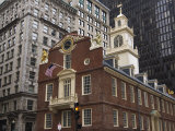 The Old State House, Built in 1713, Boston, Massachusetts, New England, USA Photographic Print by Amanda Hall
