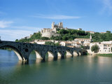 Beziers, Languedoc Roussillon, France Photographic Print by J Lightfoot