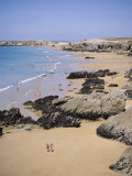 Aerial View of Coast, Quiberon, Cote Sauvage, Brittany, France Photographic Print by J Lightfoot