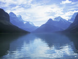 Maligne Lake, Alberta, Rockies, Canada Photographic Print by J Lightfoot