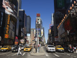 Times Square, Manhattan, New York City, New York, USA Photographic Print by Amanda Hall