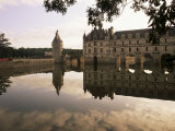 Chateau De Chenonceau, Touraine, Loire Valley, Centre, France Photographic Print by J Lightfoot