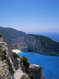 Cliffs, Kefalonia, Ionian Islands, Greece Photographie par J Lightfoot