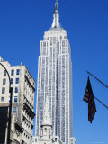 Empire State Building, Manhattan, New York City, New York, USA Photographic Print by Amanda Hall