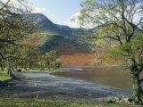 Buttermere, Lake District Nationalpark, Cumbrien, England, Storbritannien Fotografisk tryk af Roy Rainford