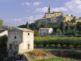 Aix Baronnie, Mirabel, Daume Region, Rhone Alpes, France Photographic Print by Duncan Maxwell