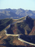 The Great Wall of China, Unesco World Heritage Site, China Photographic Print by Ursula Gahwiler