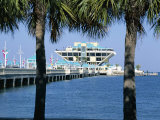 Pier, St. Petersburg, Gulf Coast, Florida, USA Photographic Print by J Lightfoot