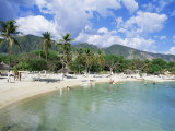 Kyona Beach Club, North of Port Au Prince, Haiti, West Indies, Central America Photographic Print by Lousie Murray