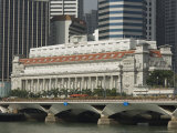 The Fullerton Hotel, Formerly the General Post Office, Singapore, Southeast Asia Photographic Print by Amanda Hall
