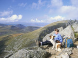 On the 798M Peak of Cir Mhor, Goatfell Range, Isle of Arran, Scotland, United Kingdom Photographic Print by Duncan Maxwell