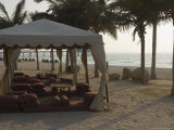 The Beach by the Madinat Jumeirah Hotel, Dubai, United Arab Emirates, Middle East Photographic Print by Amanda Hall