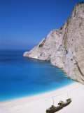 Shipwreck Cove, Kefalonia, Ionian Islands, Greece Photographic Print by J Lightfoot